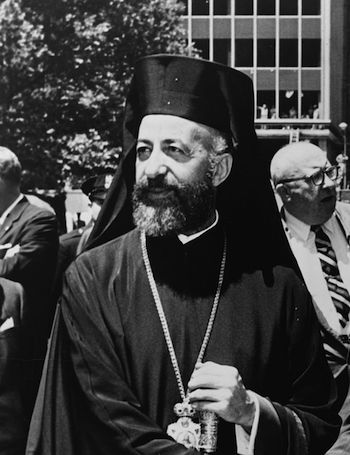 Archbishop Markarios of Cyprus