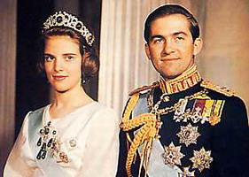 King Constantine and Queen Anna Marie