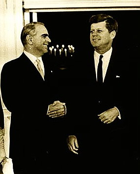 Constantine Karamanlis with JFK