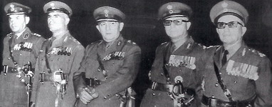 Members of the 1967 Junta